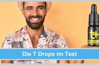 t drops test tropfen