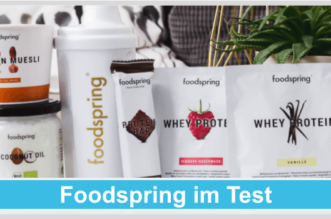 Foodspring Titelbild