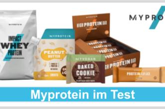 Myprotein Titelbild