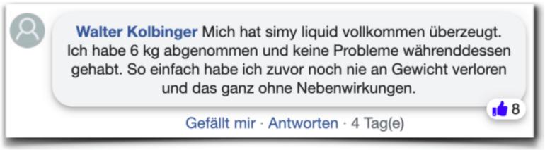 Slimy Liquid Bewertung Erfahrung facebook