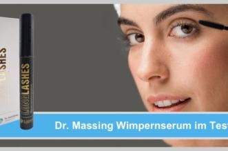 Dr Massing Wimpernserum Dr Massing Long Lashes im Test: Junge Frau verwendet Lash Brow Serum